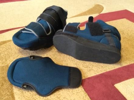 Ортопедическая обувь послеоперационная. Запорожье. фото 1
