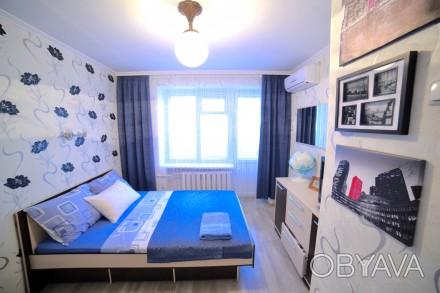 Сдам посуточно 1 комнатную квартиру на Таирова ( пр. Глушко 30/2) на 3 этаже 9 . Таирова, Одесса, Одесская область. фото 1