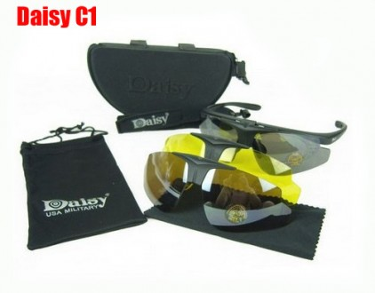 Тактические очки Daisy C1, C2, C3, C4, C5, C6, X7 полный комплект. Днепр. фото 1