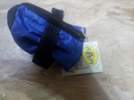 стильные синие ботиночки на среднюю собачку размер 1,5 фирма ЛАРИ производство У. Николаев, Николаевская область. фото 4