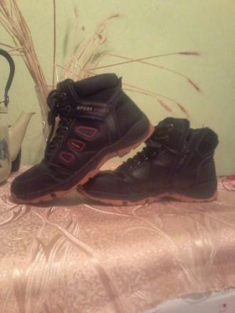 Ботинки для мальчика 36 размер. Козелець. фото 1
