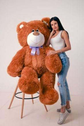 Плюшевый медведь, плюшевый мишка, мягкая игрушка, большой медведь. Днепр. фото 1