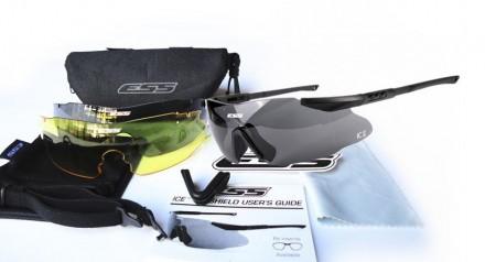 Очки ESS ICE, Crossbow 3LS, 5LS. Днепр. фото 1