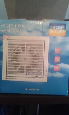 Продам два витяжних вентилятори VENTS 100KI в 125. Житомир. фото 1