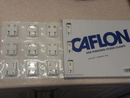 Серьги для прокола ушей фирмы Caflon (США). Одесса. фото 1