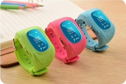 Умные Smart-часы Q50 для детей с GPS и просушкой. Кропивницкий. фото 1