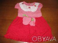 Продам красивое новое платье на модницу до 1,5 лет (рост до 76 см). Платье сзади. Северодонецк, Луганская область. фото 3