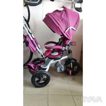 Велосипед 6 в 1.В наличии синий,розовый,фиолетовый,бежевый,малиновый(принцесса-б. Одесса, Одесская область. фото 1