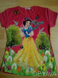 """Футболка """"Принцесса"""" на девочку 6,7,8 лет  Футболка для настоящих модниц, очен. Одеса, Одеська область. фото 8"""