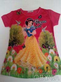 """Футболка """"Принцесса"""" на девочку 6,7,8 лет  Футболка для настоящих модниц, очен. Одеса, Одеська область. фото 6"""