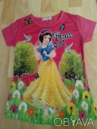 """Футболка """"Принцесса"""" на девочку 6,7,8 лет  Футболка для настоящих модниц, очен. Одеса, Одеська область. фото 5"""