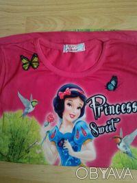 """Футболка """"Принцесса"""" на девочку 6,7,8 лет  Футболка для настоящих модниц, очен. Одеса, Одеська область. фото 7"""
