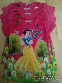 """Футболка """"Принцесса"""" на девочку 6,7,8 лет  Футболка для настоящих модниц, очен. Одеса, Одеська область. фото 3"""