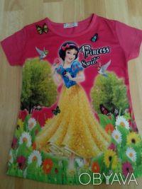 """Футболка """"Принцесса"""" на девочку 6,7,8 лет  Футболка для настоящих модниц, очен. Одеса, Одеська область. фото 4"""