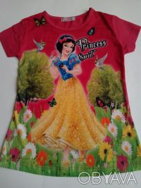 """Футболка """"Принцесса"""" на девочку 6,7,8 лет  Футболка для настоящих модниц, очен. Одеса, Одеська область. фото 2"""
