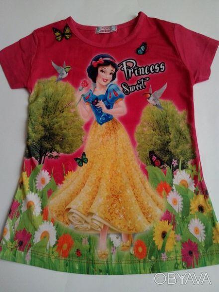 """Футболка """"Принцесса"""" на девочку 6,7,8 лет  Футболка для настоящих модниц, очен. Одеса, Одеська область. фото 1"""