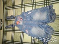 Продам шорты-комбинезон для девочки  на 9 месяцев. Харків. фото 1