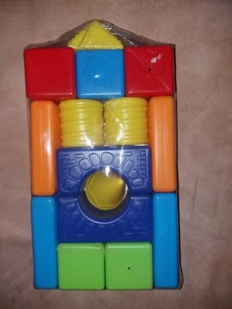 Новый Кубики конструктор мастерок 1 развивающая игра пирамидка. Харьков. фото 1