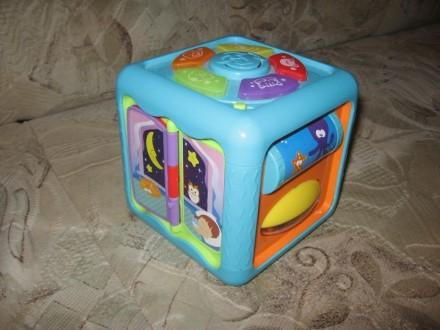 Продам развивающий кубик Win Fun в отличном состоянии. Харьков. фото 1