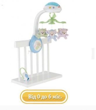 Мобиль для детской кроватки. Лозовая. фото 1