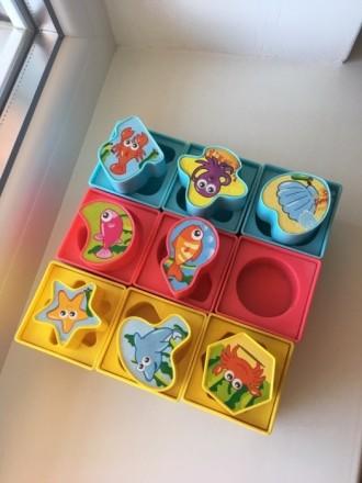 Детские развивающие кубики. Харьков. фото 1