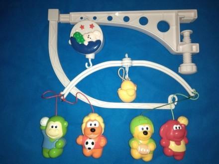 Мобиль на манеж кроватку Canpol babies. Запорожье. фото 1