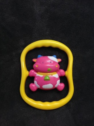 Погремушка Tolo розовая коровка. Днепр. фото 1