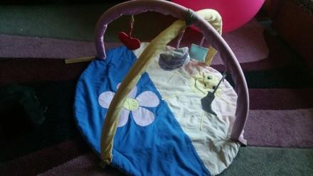 Развивающий коврик для младенца. Лозовая. фото 1