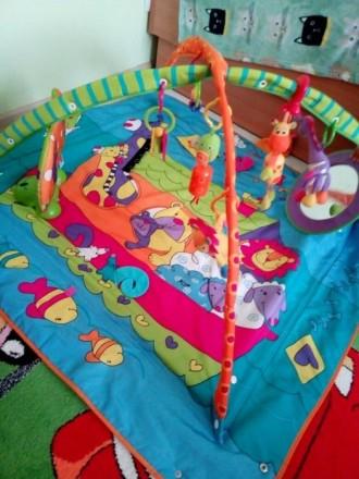 развивающий коврик Tiny Love. Буча. фото 1