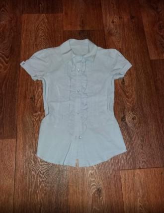Красивая  рубашка для девочки 9-11 лет. Лозовая. фото 1