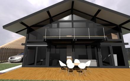 Двухэтажный дом по немецкой технологии (Фахверк). Одеса. фото 1
