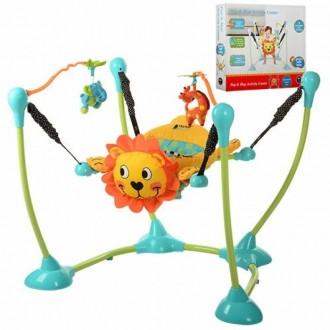Продам развивающий центр прыгуны прыгунок с мягким креслом Bambi. Волчанск. фото 1