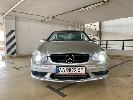Продаю свой Mercedes CLK W209 в AMG пакете (бамперы, пороги, диски, спойлер) и т. Киев, Киевская область. фото 3