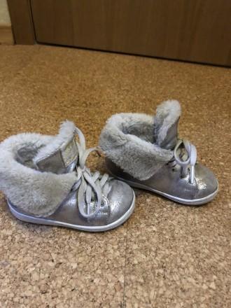Демисезонные ботинки для девочки mayoral Испания. Славянск. фото 1