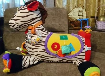 Развивающий центр K's Kids зебра Ryan. Богуслав. фото 1