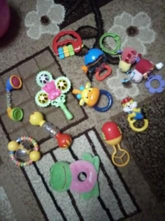 Погремушки,игрушки. Ирпень. фото 1