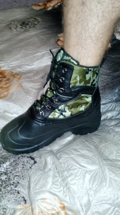 Зимние ботинки из пенки ЭВА р.41-42. Сумы. фото 1