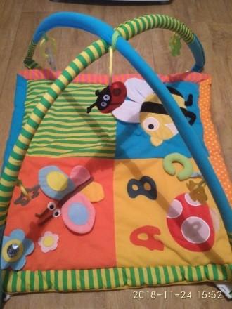 Развивающий коврик для малышей. Днепр. фото 1