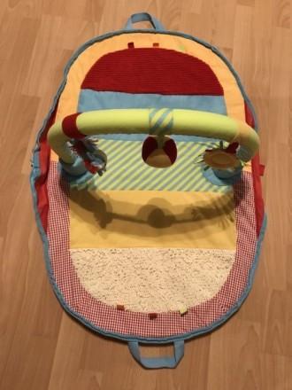 Развивающий коврик Mothercare переносной. Днепр. фото 1