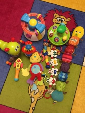 Продам детские игрушки юла дзига сортер каталка погремушки сортер. Луцк. фото 1