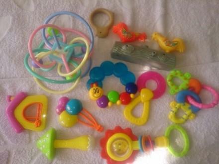 Іграшки, погремушки. Луцк. фото 1