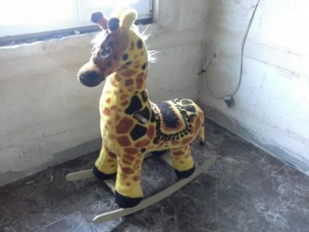 Жираф (качалка). Снигиревка. фото 1