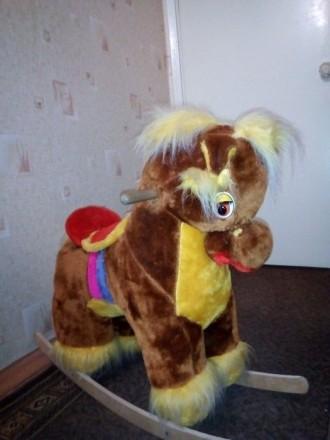 Детская лошадка-качалка. Краматорск. фото 1