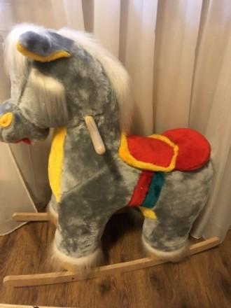 Детская лошадка-качалка. Киев. фото 1