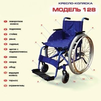 Кресло-коляска инвалидное. Новое. Для дома и улицы. Акция.. Волчанск. фото 1