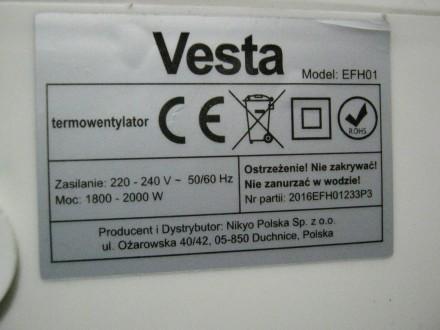 Тепловентилятор в прекрасном рабочем состоянии... Режимы работы : вентиляция бе. Лубны, Полтавская область. фото 9