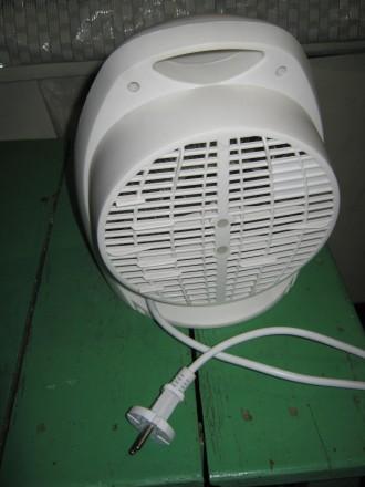 Тепловентилятор в прекрасном рабочем состоянии... Режимы работы : вентиляция бе. Лубны, Полтавская область. фото 4