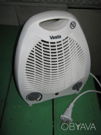 Тепловентилятор в прекрасном рабочем состоянии... Режимы работы : вентиляция бе. Лубны, Полтавская область. фото 1