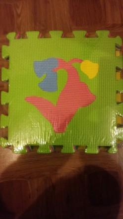 Коврик - пазл. Детский развивающий коврик.. Киев. фото 1