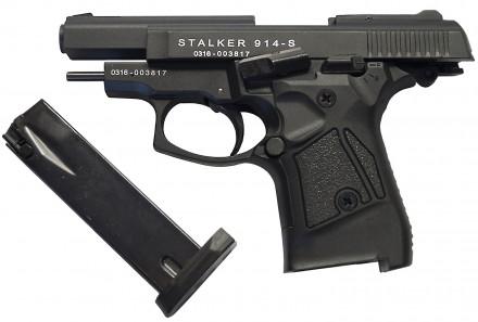 Продам стартовый пистолет Stalker 914 Black (MBP) Stalker 914 Black Тип оружия. Киев, Киевская область. фото 5